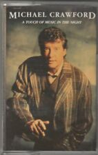 MICHAEL CRAWFORD Cassette Album - A TOUCH OF MUSIC IN THE NIGHT