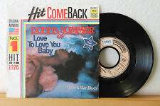 "7"" Hit Come Back - DONNA SUMMER - Love To Love You Baby  4:57min  No.1 Hit 1976"
