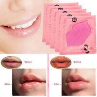 5X Collagen Lip Gel Mask Anti-wrinkles Plump Moisturise Pink LIPS MASK PatchLJU