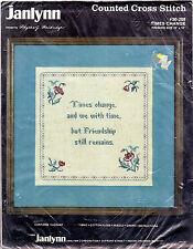 "©1986 Janlynn Counted Cross Stitch Kit 30-208 ""Times Change"" 10""x10"" Finished"