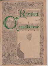 D231-RIVISTA CAMALDOLESE-IXCENTENARIO DELLA MORTE DI S.ROMUALDO-1027-1927