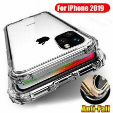 Rubber Clear TPU Soft Bumper Armor Case Slim Gel Cover For iPhone 11 Pro Max/11