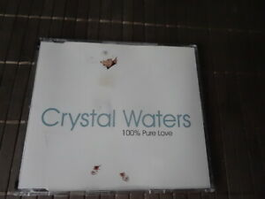 Crystal Waters- 100% Pure Love (Maxi -Single CD 1994)