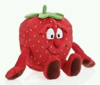 Peluche fragola vitamini coop strawberry goodness gang plush soft toys naturotti