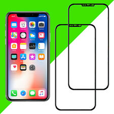 2x 3d Display Protection Blindée pour iPhone X-Complet FULL COVER vraiment Verre 9 H