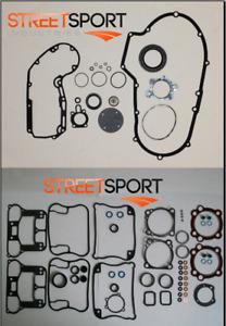 Harley Davidson Sportster 1200 91-03 Top & Bottom End Gasket Kits Silicone - NEW