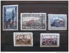 "timbre Luxembourg : grand duché ""Officiel"" 1922/26 *"