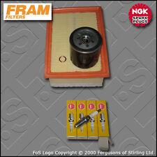 SERVICE KIT PEUGEOT 206 2.0 16V GTI RC 180 FRAM OIL AIR FILTER PLUGS (2003-2007)