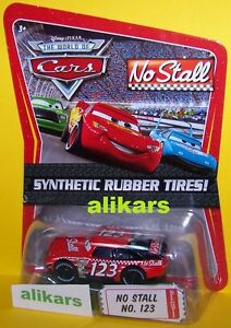 O - NO STALL - No 123 Piston Cup Disney Pixar Cars racing auto diecast racer car