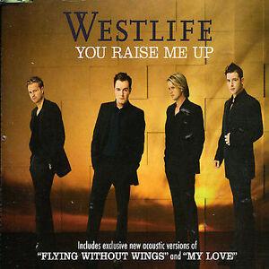 Westlife You Raise Me Up + 2 CD Single VGC