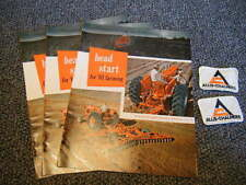 """Allis-Chalmers 1961 """"Head Start"""" Promo Catalogs &  Patches Fresh From Old Stock"""