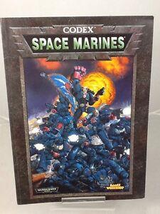 Warhammer Armies Space Marines 1998 Supplement Book by Games Workshop