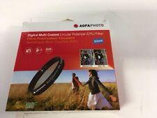 Agfa 52mm Circular Polarizer CPL f/Canon Nikon Sony Fuji Lenses  Free WorldShip
