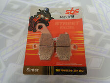SBS Street Excel Sinter HH REAR Brake Pads for Kawasaki ZZR600 1993-2005 NEW