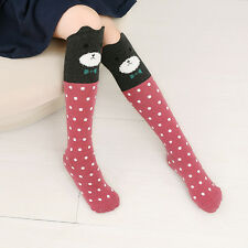 Women's Cute 3D Cartoon Animals Thigh Stockings Over Knee High Long Socks Fancy