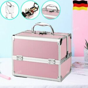 Kosmetikkoffer Schminkkoffer Alu Make Up Beauty Case Koffer Nageldesignkoffer DE