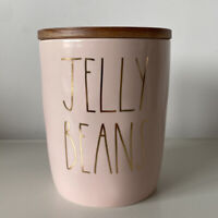 Rae Dunn Pink & Gold Jelly Beans Cellar Canister - Easter 2021 Online Exclusive