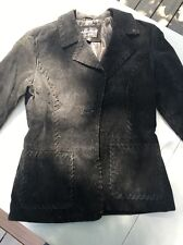 Rampage Leather Jacket Black XS Vintage