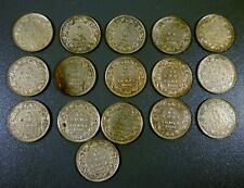 Lot Of 16 British India 1936 1/12 Anna Coins