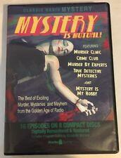 MYSTERY IS MUTUAL CLASSIC RADIO 8 CD SET, Radio Spirits, OOP, 16 Episodes RARE