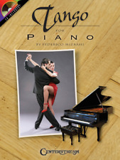 """""""Tango for Piano"""" MUSIC BOOK/CD-BRAND NEW ON SALE SONGBOOK BY JORGE POLANUER"""