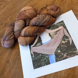 Shawl Knitting Kit - Malabrigo Arroyo Yarn and Free Pattern - Lot of 2 Yarn