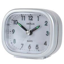 Small Travel Sweep Silent Movement Beep Alarm Clock With Snooze PT182 Mix Colour