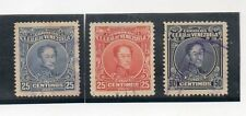 Venezuela Personajes Bolivar Valores del año 1924-28 (CZ-729)