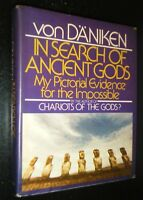 In Search of Ancient Gods by Erich von Daniken First American Hardcover Edition