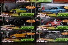 RARE! Fast and Furious 1/24 Cars Collection  Paul Walker Vin diesel Figures