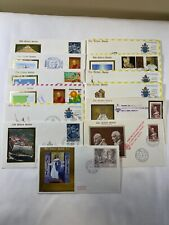 VATICAN Golden Series Cover Collection - Incl RARE Bahamas Cover + 23Kt gold