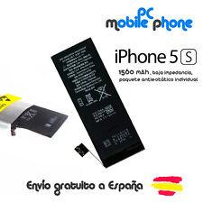 Bateria para Apple IPHONE 5S 1560mAh PREMIUM - 0 ciclos de carga, MAXIMA CALIDAD
