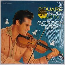 GORDON TERRY: Square Dance Party RCA Country SHRINK Vinyl LP 1S/1S VG++