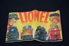 Vintage 1954 Lionel Toy Train Catalog 32 pages