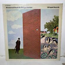 George Harrison Wonderwall Music Apple 066 90490 French Press VG/VG++