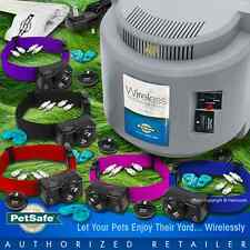 Petsafe PIF-300 Instant Wireless Pet Fence PIF-275 Collars 5 Dogs