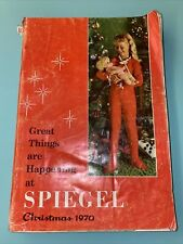 1970 Spiegel Christmas Catalog 129 pages of toys Mod clothes robots Hot wheels