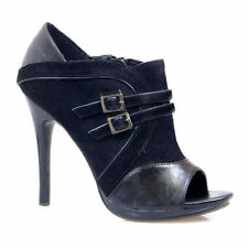 Wear to Work Open Toe Synthetic Heels for Women