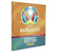 Panini Euro 2020 Tournament Edition Stickers Hard Cover Album