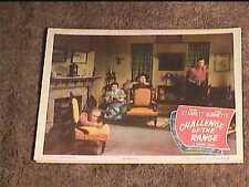 CHALLENGE OF THE RANGE 1949 LOBBY CARD #2