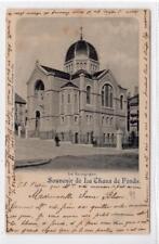 More details for la synagogue, la chaux de fonds: switzerland postcard (c35847)