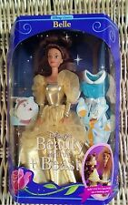 1992 Disney Classics Beauty and The Beast Golden Belle Barbie Fashion Doll NIP