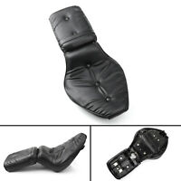 Leather Driver&Passenger Seat 2-up For Honda Shadow VLX 600/VT600 1988-1998 T0