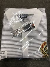 65fcca687e286e Nickelson Striped Polo King Size white - 4x Long Fitting (unopened)