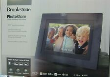 Brookstone PhotoShare Friends and Family 10.1-Inch Smart Frame in Black