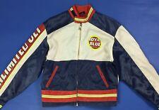 royal blue unlimited ult jacket usato vintage retro giacca giubbino disco T4173