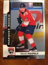 17-18 UD Opee Chee Platinum Marquee Rookie #174 Henrik Haapala