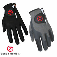 ZERO FRICTION STORM RAIN AND COLD,COMPRESSION FIT PAIR ONE SIZE MENS GOLF GLOVES