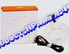 NEW Hermes EAU DES MERVEILLES Eau de Toilette MINI/NECKLACE .25fl.oz/7.5ml BOXED