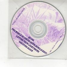 (FS105) Quinn, The World is Upside Down - 2006 DJ CD